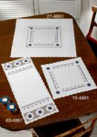 Hardanger with Blue Table Topper (top)